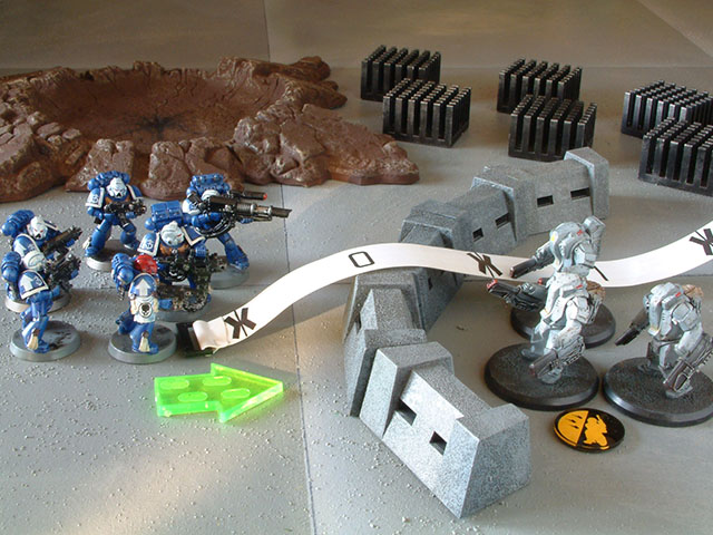 Space Marines vs. Steel TacArms