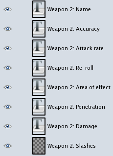 "GIMP ""Weapons"" layers"