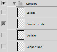 "Photoshop layer group ""Category"""