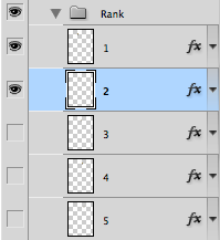 "Photoshop layer group ""Rank"""